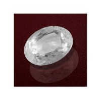 White Sapphire 3.39 Carats GII Certified