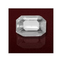White Sapphire 3.95 Carats GII Certified